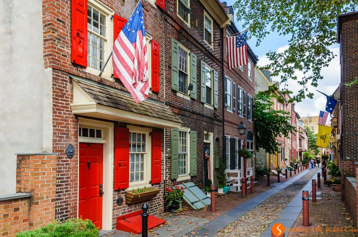 Elfreth Alley, Filadelfia, Estados Unidos |2 semanas en la Costa Este