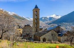 Santa Eulàlia de Erill de la Vall, Vall de Boí, Cataluña