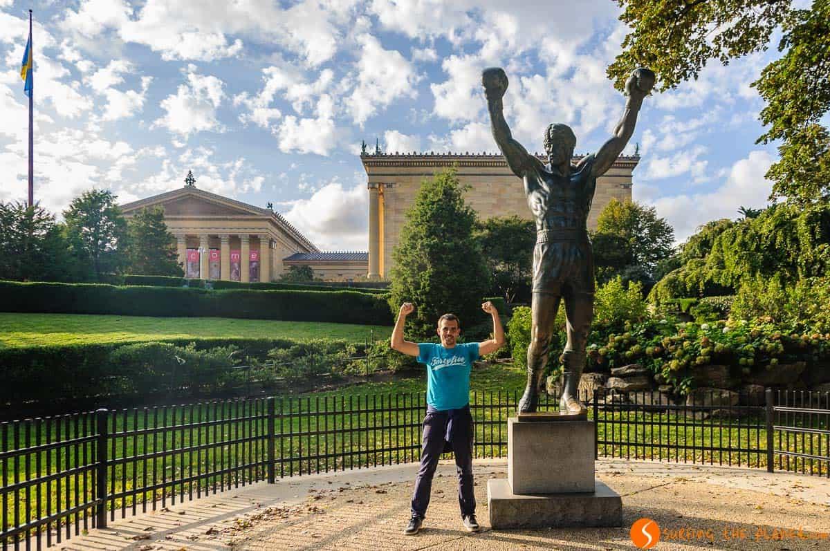 Estatua Rocky Balboa, Filadelfia, Estados Unidos