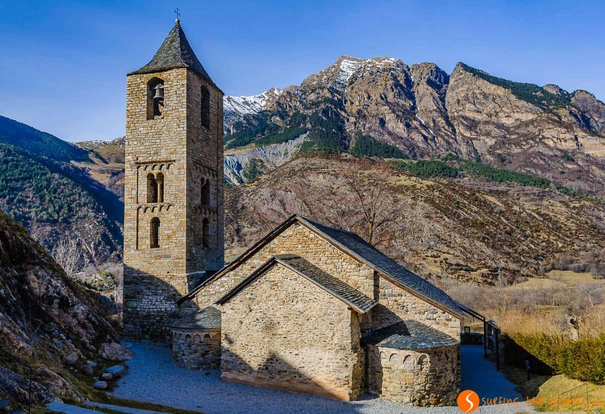 Exterior de Sant Joan de Boí, Vall de Boí, Cataluña