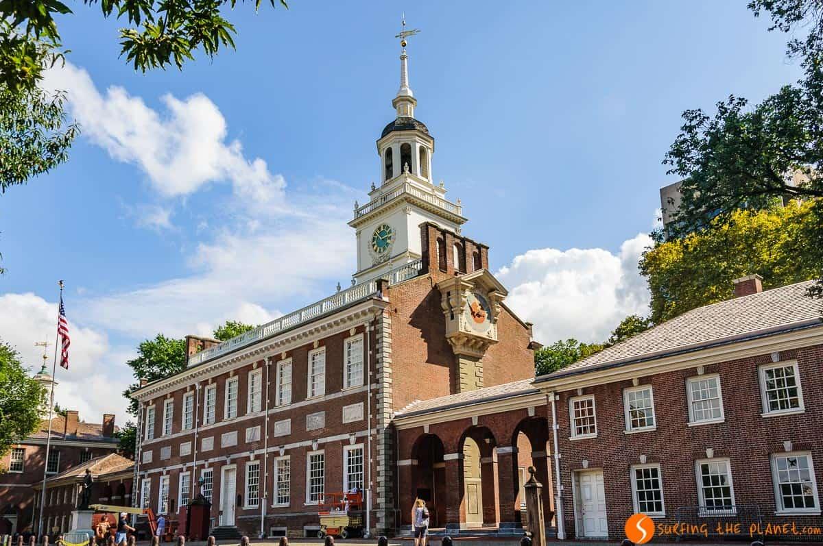 Independence Hall, Filadelfia, Estados Unidos | Qué ver en Filadelfia en 1 día