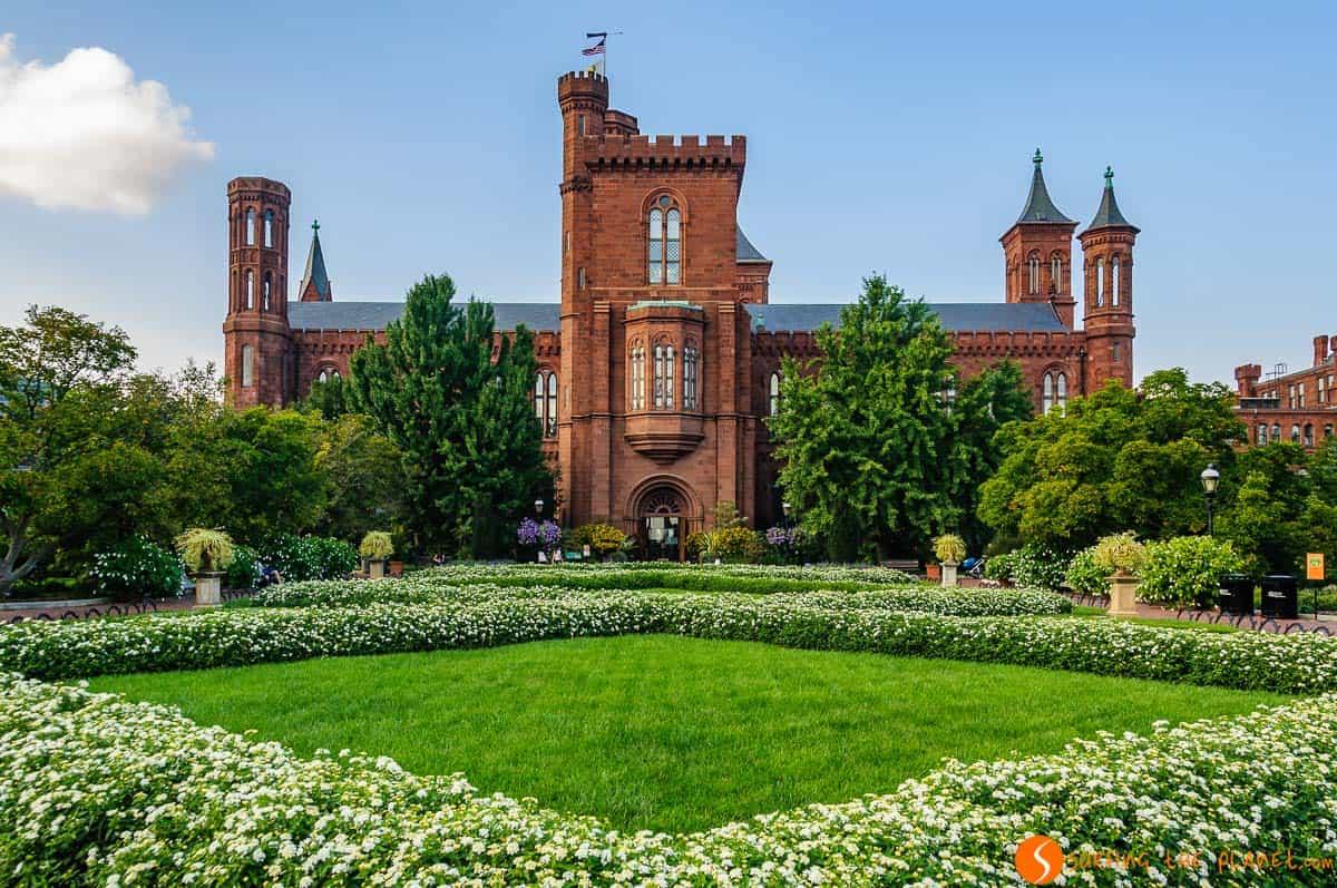 Jardín del Castillo Smithsonian, Washington DC, Estados Unidos | Qué visitar en Washington