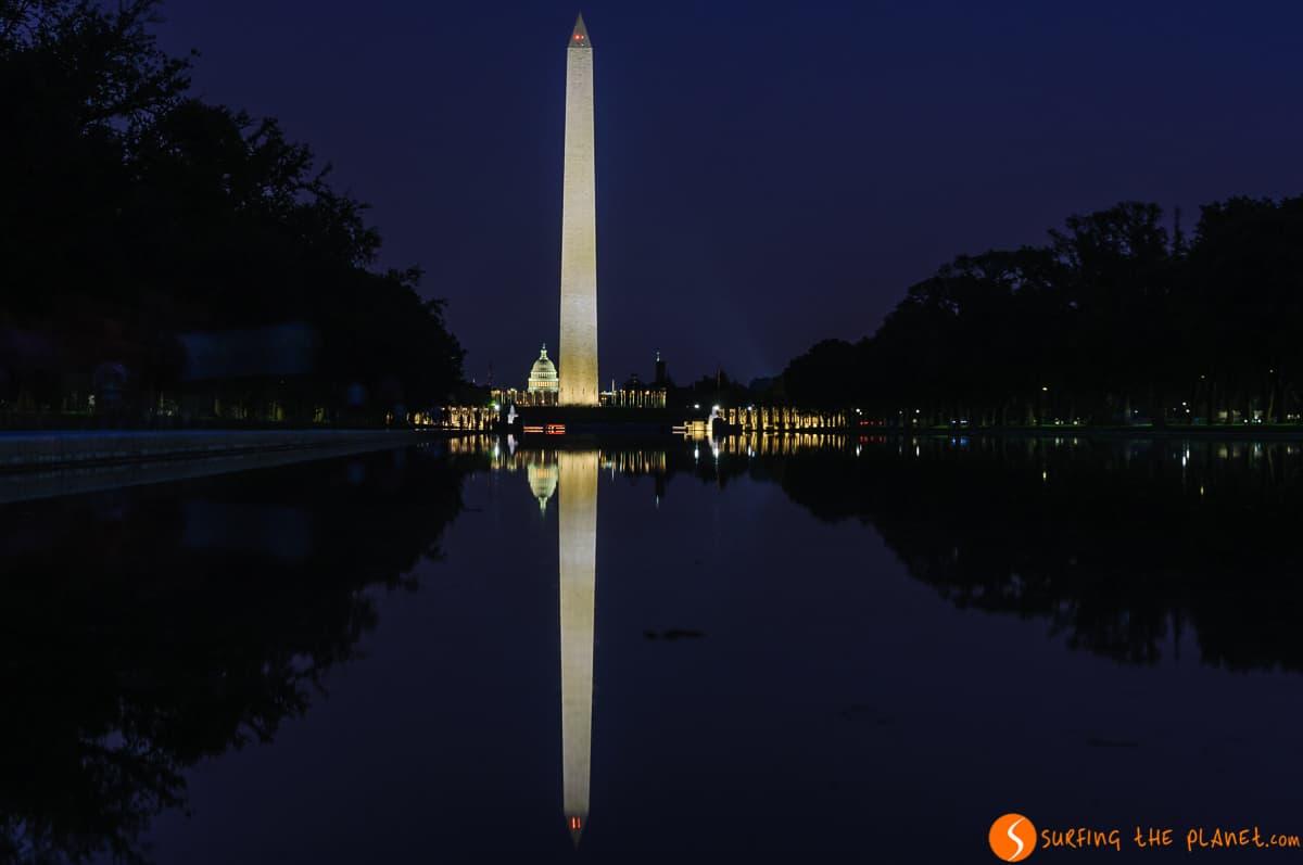 Luces nocturnas, Washington DC, Estados Unidos