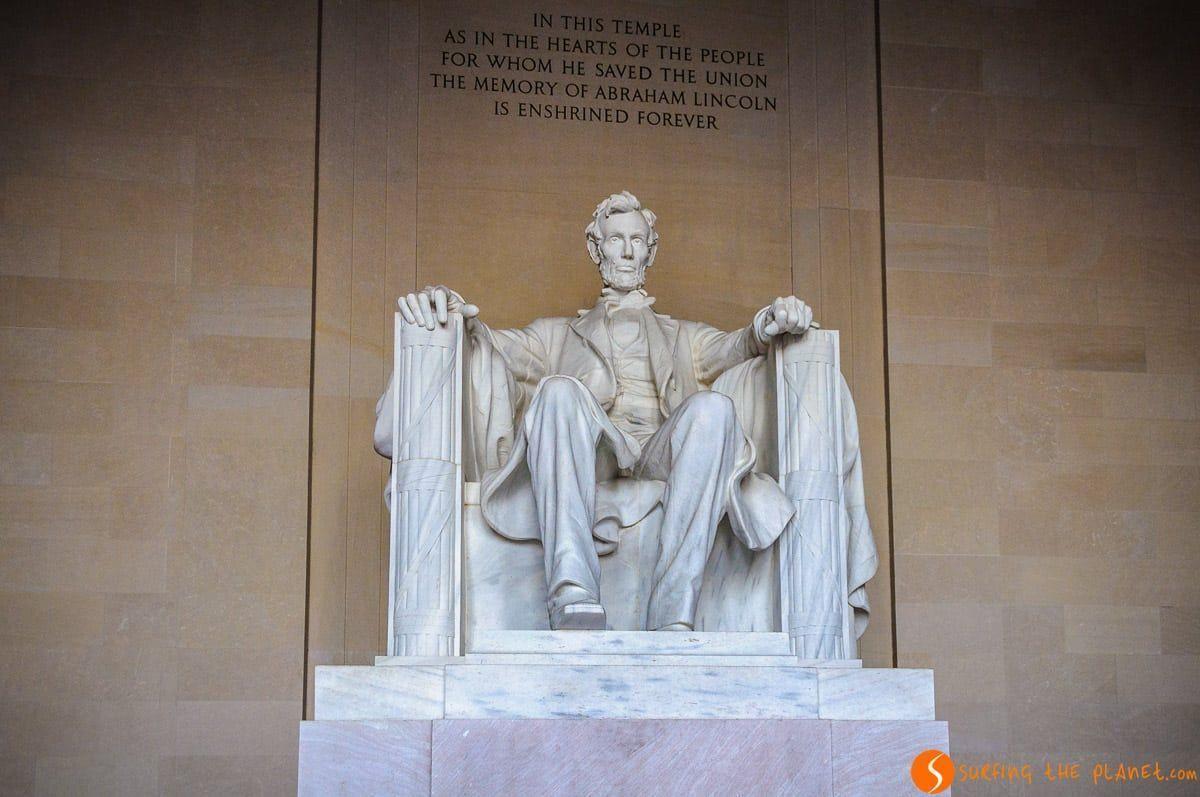 Monumento a Abraham Lincoln, Washington DC, Estados Unidos | Qué ver y hacer en Washington