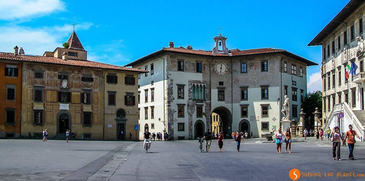Plaza de los Caballeros, Pisa, Italia