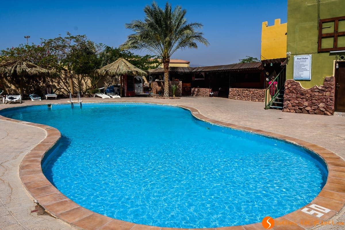 Piscina en Mar Rojo, Aqaba, Jordania