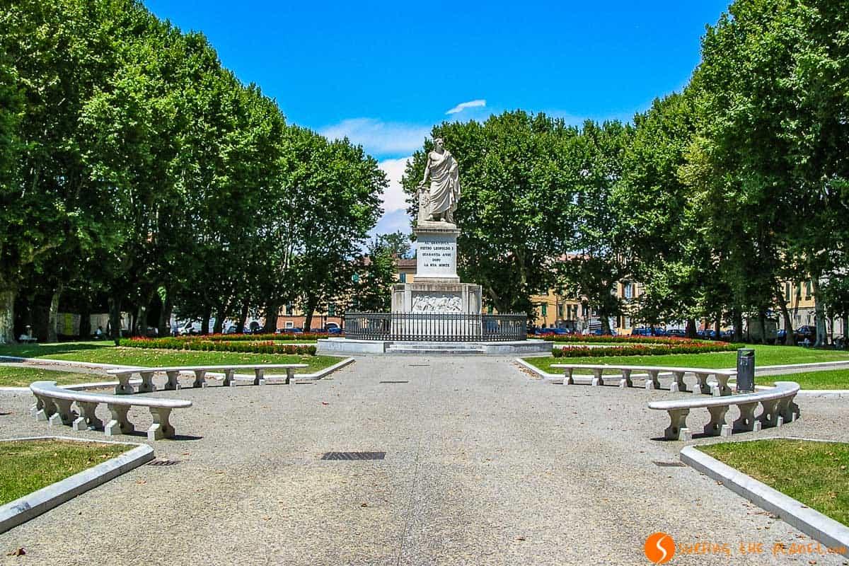 Plaza de Martiri della Libertà, Pisa, Italia | 10 Imprescindibles que ver y hacer en Pisa