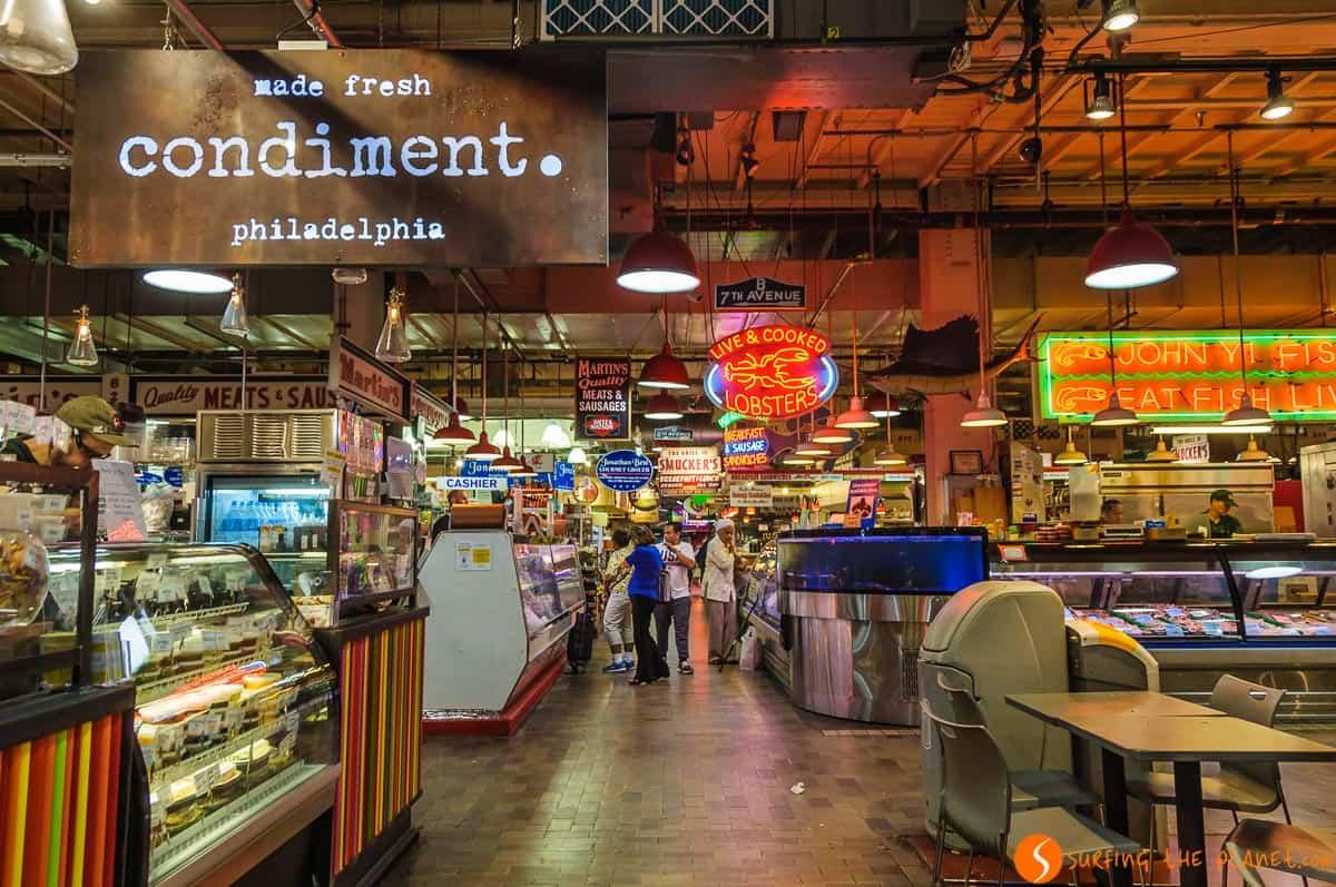 Reading Terminal Market, Filadelfia, Estados Unidos | 14 Lugares imprescindibles en Filadelfia