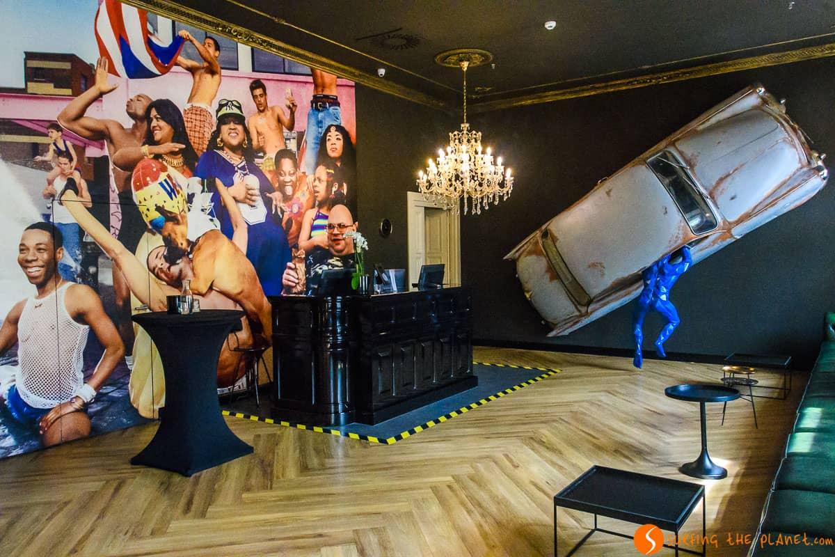 Recepción, Hotel Meet Me 23, Praga | El mejor hotel donde dormir en Praga