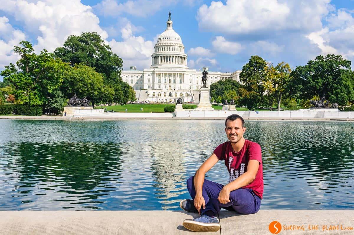 Reflejo del Capitolio, Washington DC, Estados Unidos