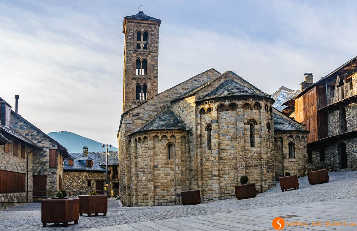 Santa Maria de Taüll, Vall de Boí, Cataluña