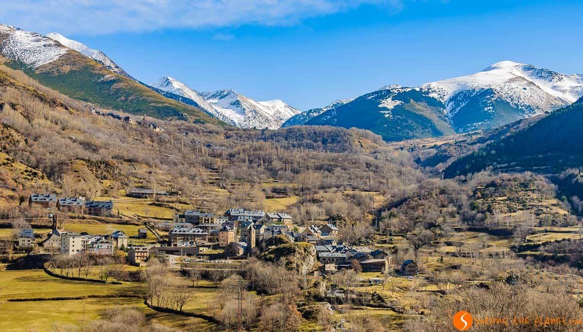 Vistas de los pueblos, Vall de Boí, Cataluña | Viaje a la Vall de Boí