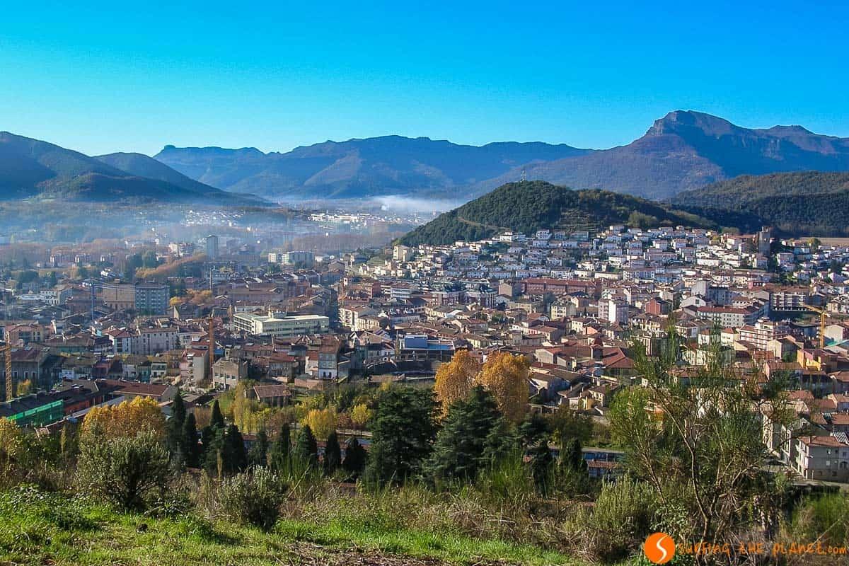 Vistas desde Olot, La Garrotxa, Cataluña | Qué visitar en la Garrotxa