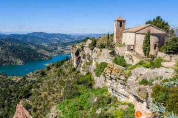 Vistas de Siurana de Prades, Cataluña