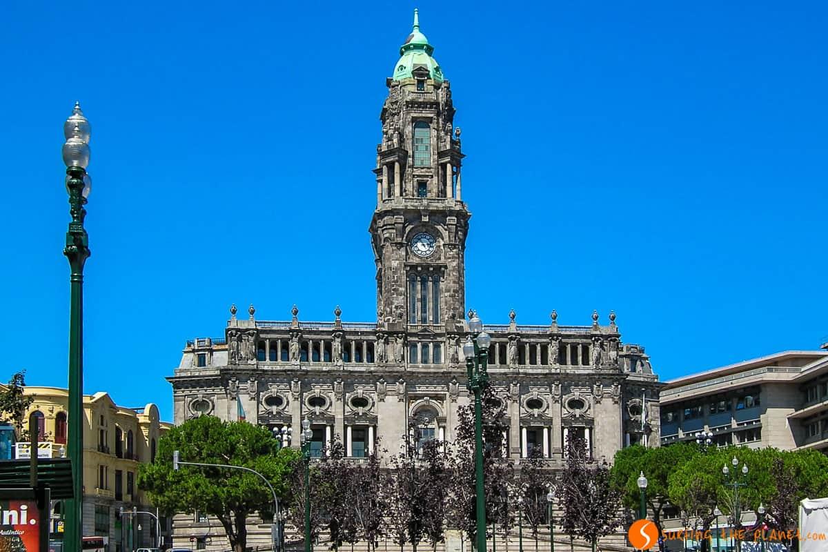 Ayuntamiento, Oporto, Portugal