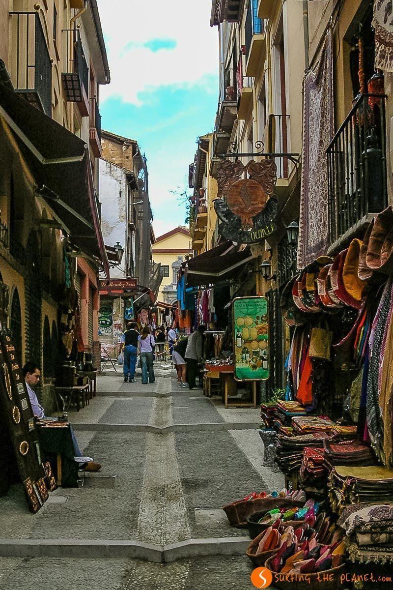 Calle Teterías, Granada, España | Free tours de Granada