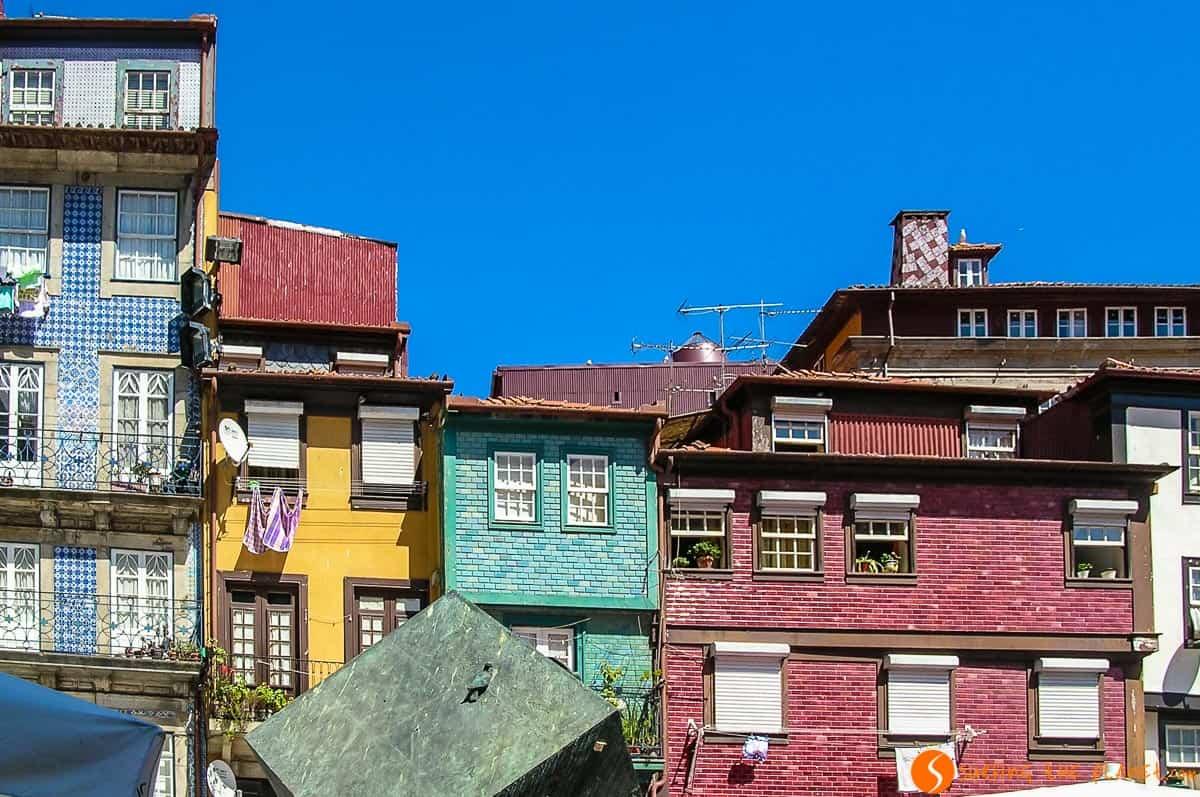 Casa coloridas, Oporto, Portugal