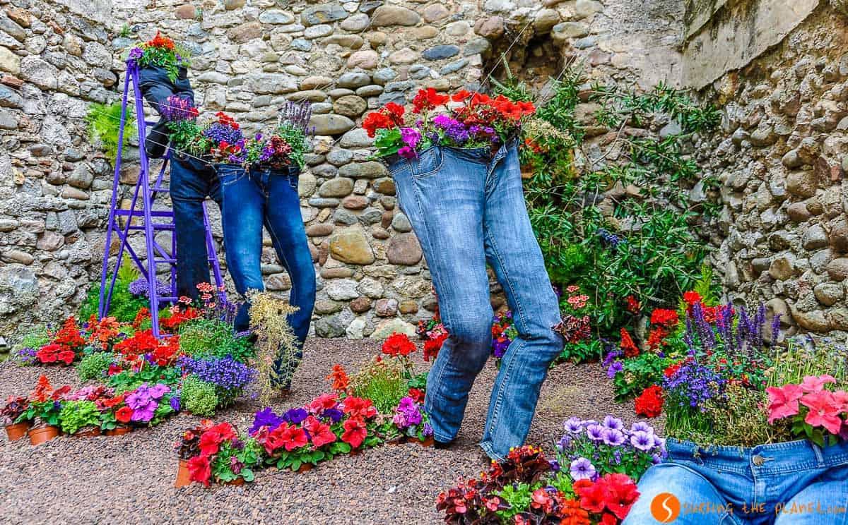Composición de flores, Temps de Flor, Girona, Cataluña