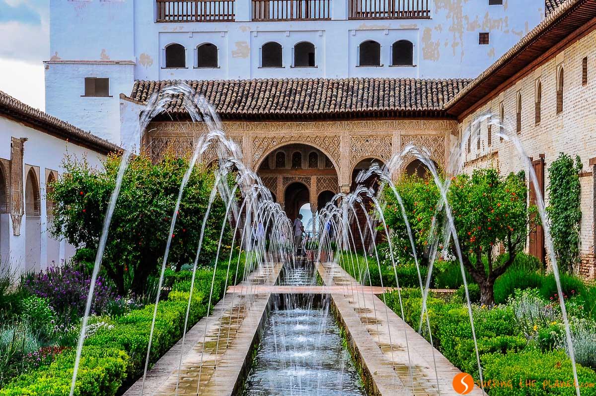 Jardines de Generalife, Granada, España | Qué ver en Granada en 2 días