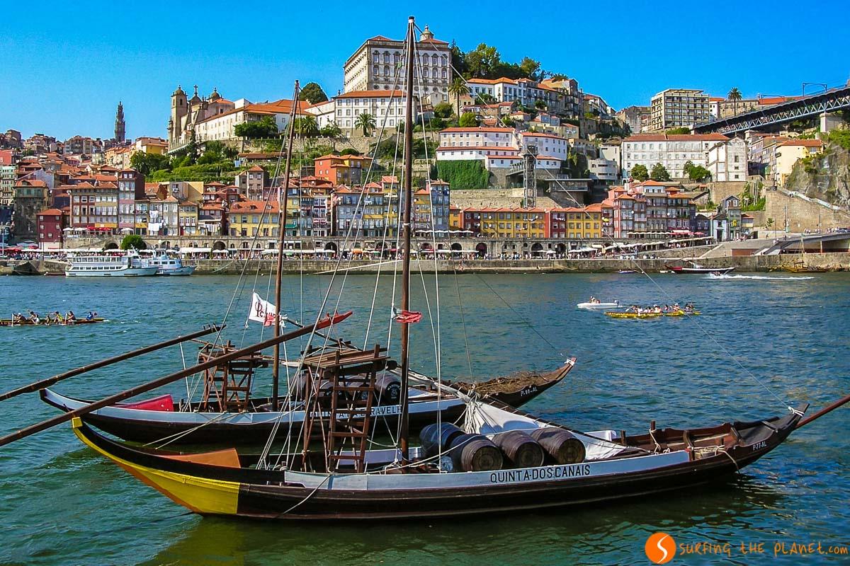 Paseo en barco, Oporto, Portugal