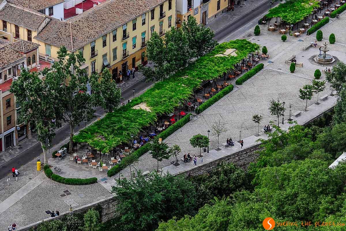 Paseo de los Tristes, Granada, España | 10 Imprescindibles que ver y hacer en Granada