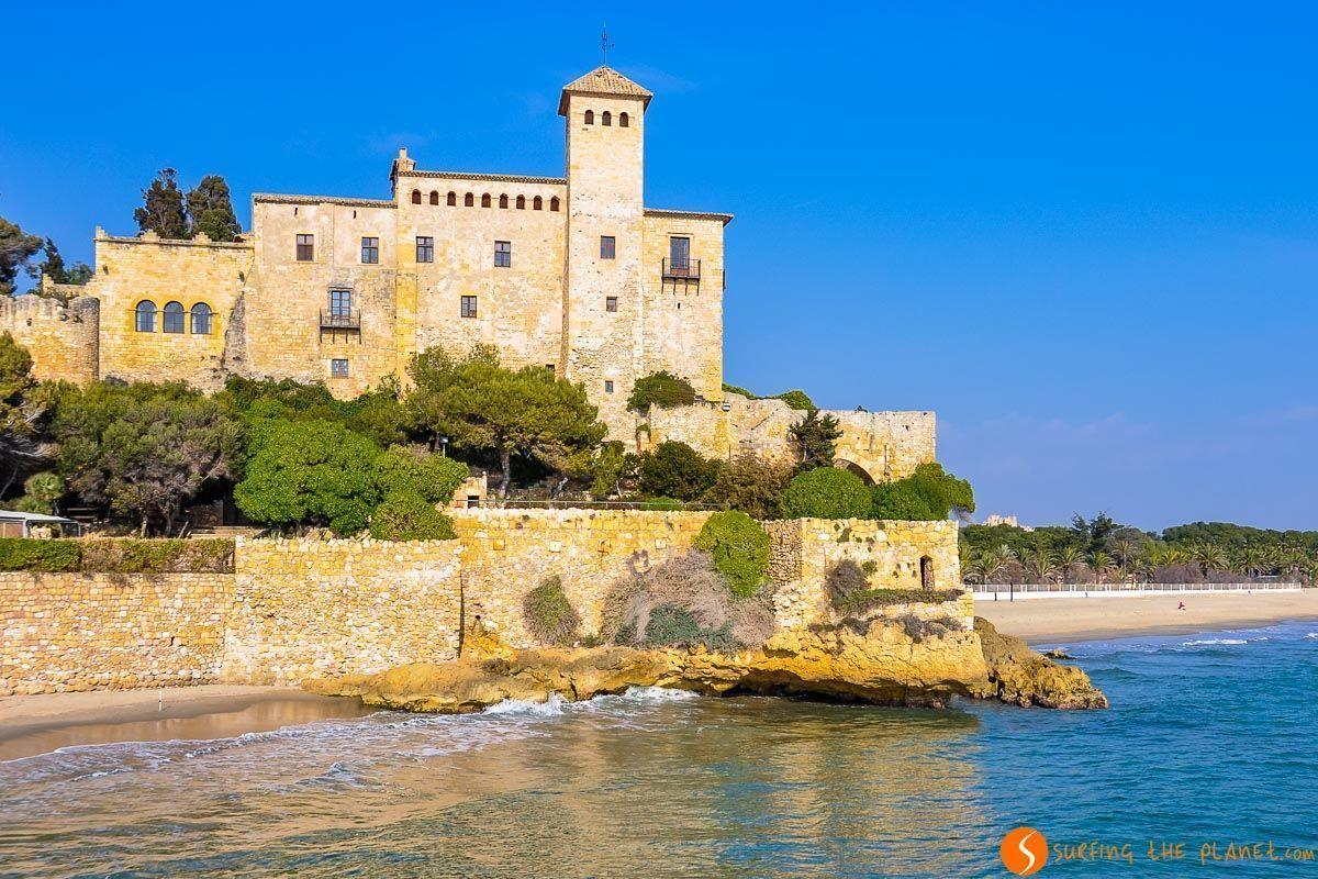 Playa del Castillo de Tamarit, Cataluña | Qué ver y hacer en la Costa Dorada
