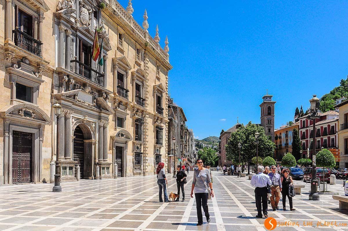 Plaza Nueva, Granada, España
