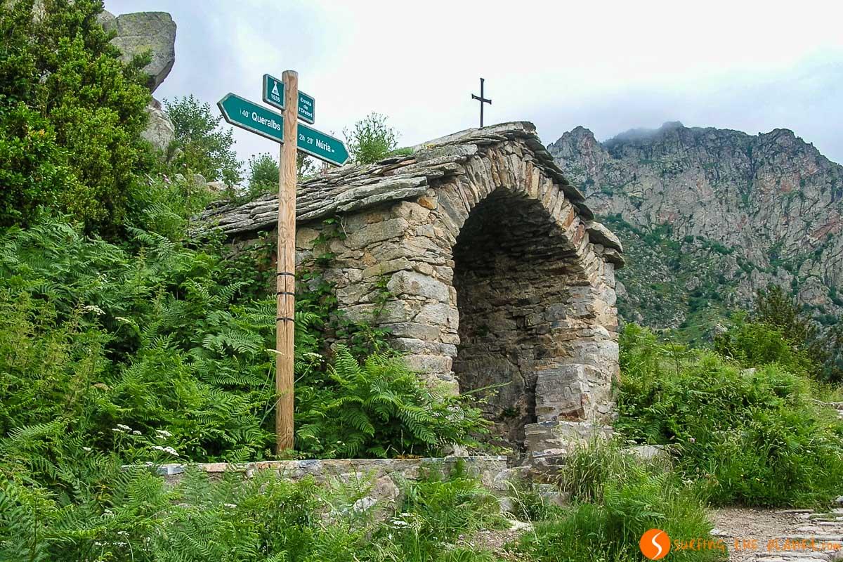Ruta Queralbs - Vall de Núria, Cataluña, España
