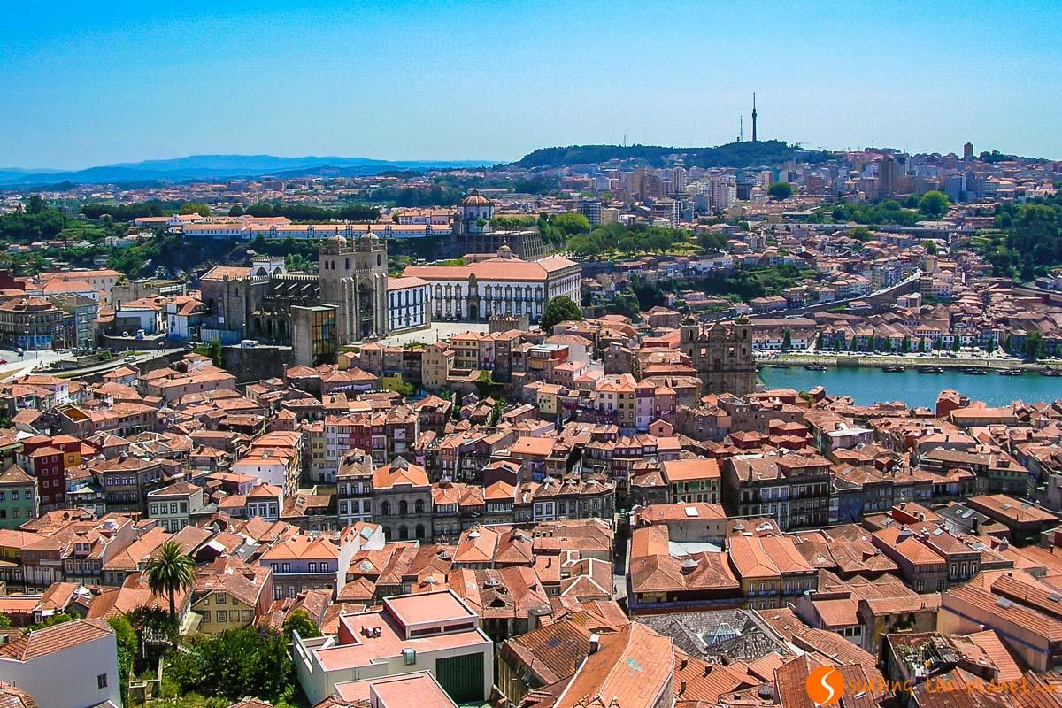 Vista desde la Torre de Clérigos, Oporto, Portugal | Qué visitar en Oporto en 1 día