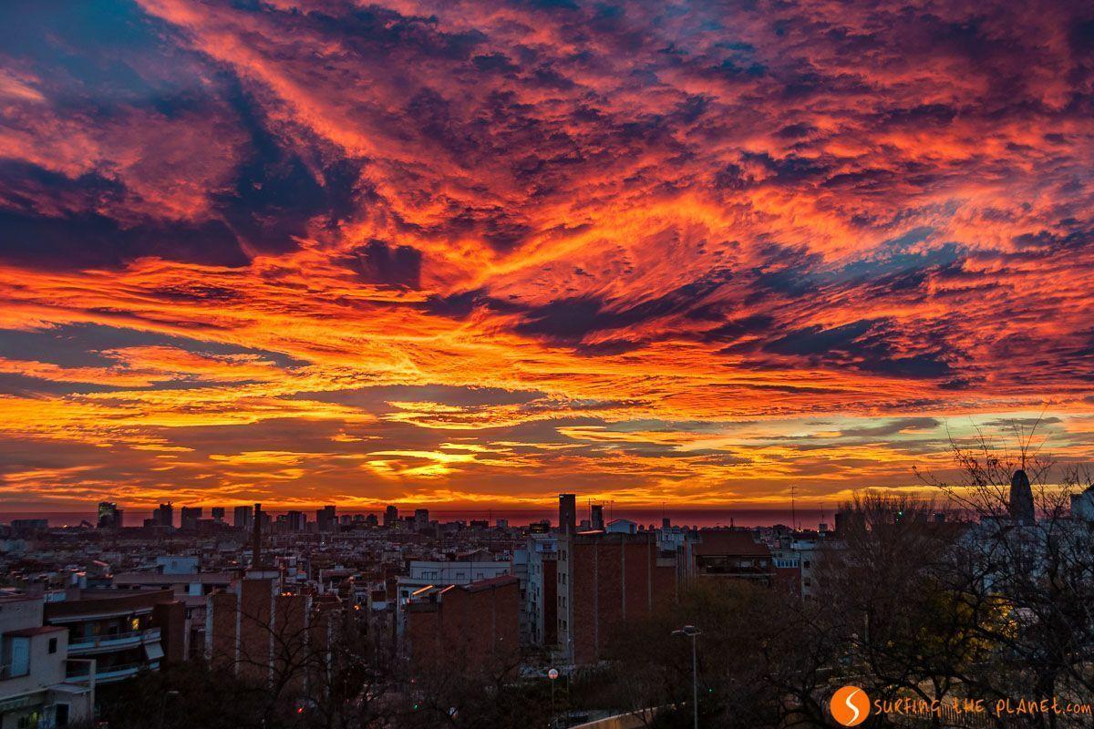 Vistas de amanecer, Barcelona, Cataluña, España | Los 20 mejores visitas de Barcelona