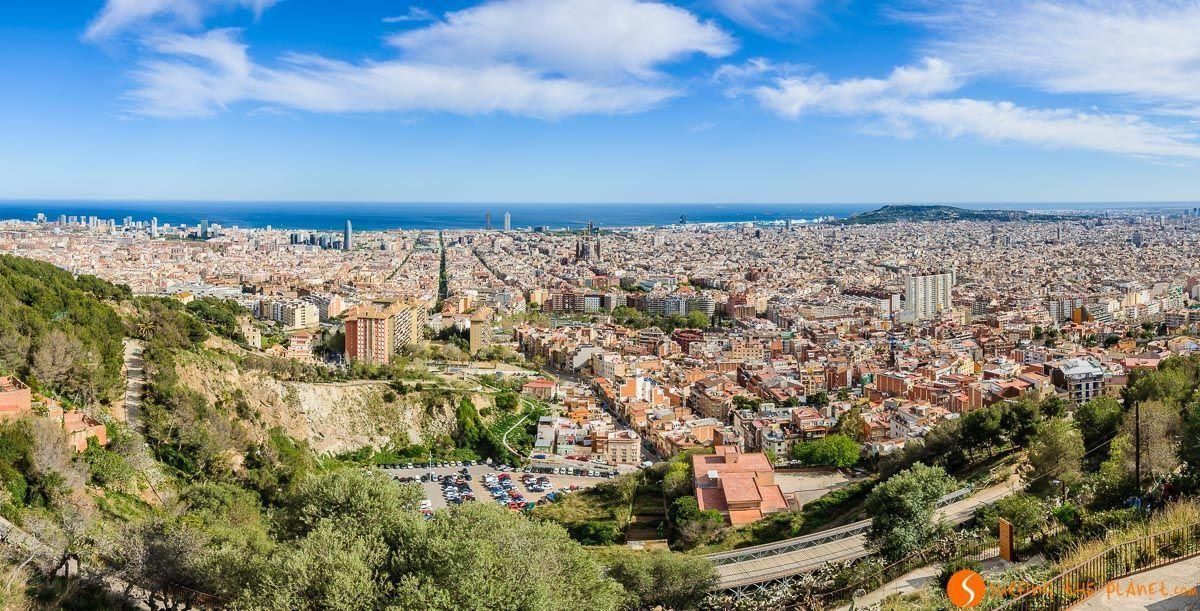 Bunkers de Carmel, Miradores de Barcelona, Cataluña, España | Los 20 mejores miradores de Barcelona