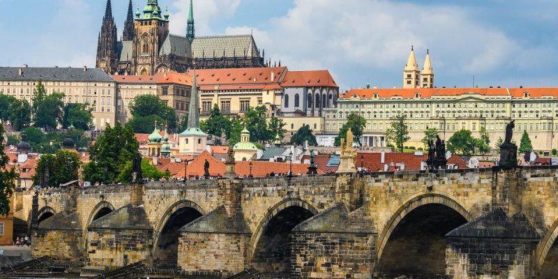 El Castillo desde abajo, Praga, República Checa