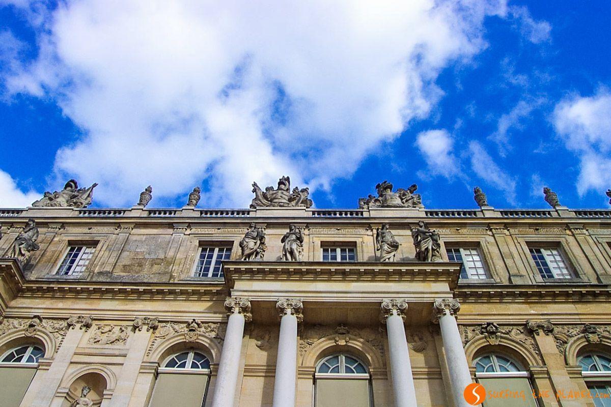 Fachada, Palacio de Versalles, París, Francia | Las 10 mejores excursiones desde París