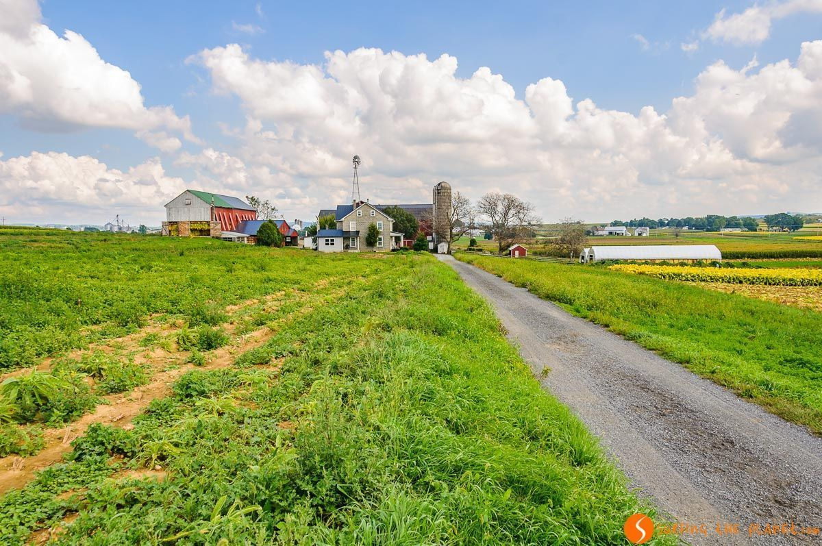 Granja, Condado de Amish de Lancaster, Pennsylvania, Estados Unidos