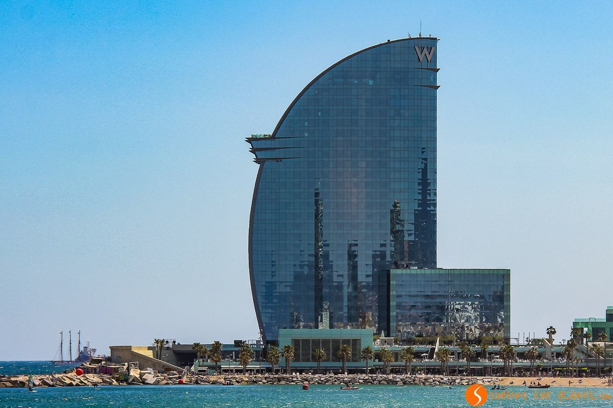 Hotel Vela, Barcelona, Cataluña, España | Los mejores miradores y vistas de Barcelona