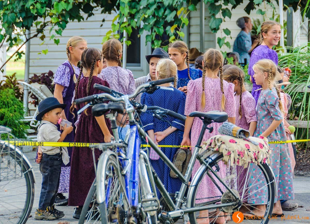 Jóvenes, Condado de Amish de Lancaster, Pennsylvania, Estados Unidos | Excursión al Condado Amish en la Costa Este