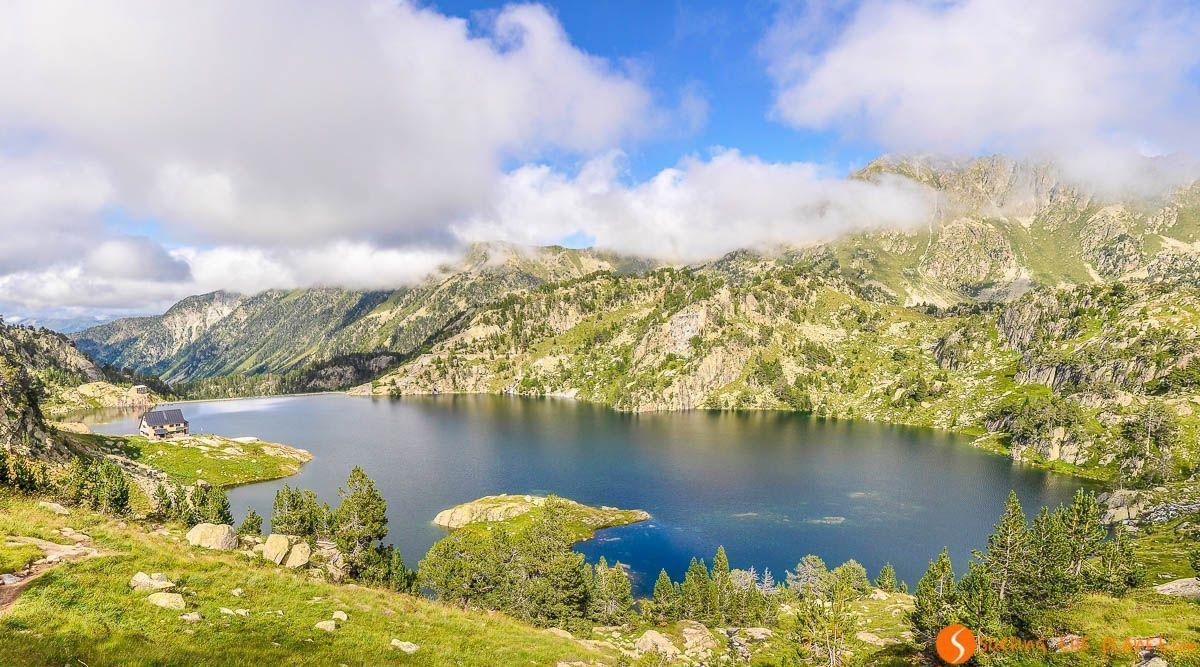 Lago Colomèrs, Valle de Arán, Cataluña, España
