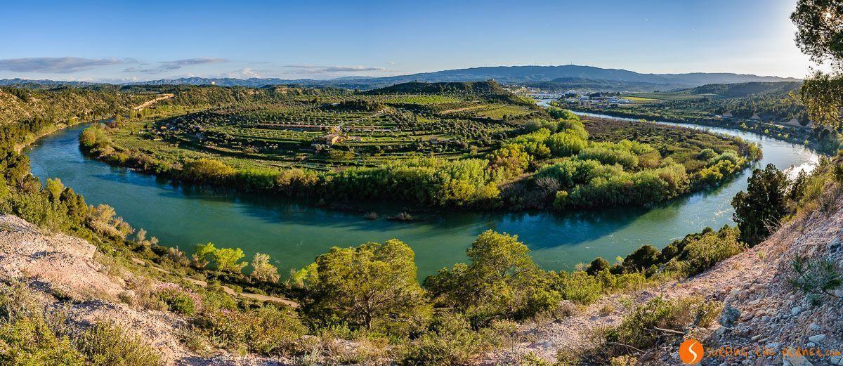 Meandro de Flix, Provincia de Tarragona, Cataluña, España | Lo mejor de un viaje a la Costa Dorada