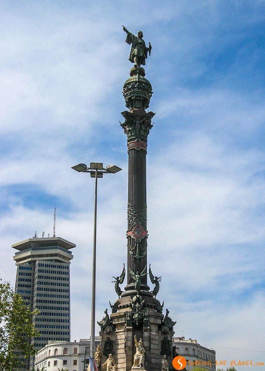 Mirador de Colón, Barcelona, Cataluña, España