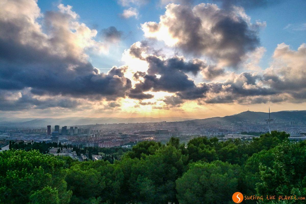 Mirador del Migdia, Barcelona, Cataluña, España | Miradores que visitar en Barcelona