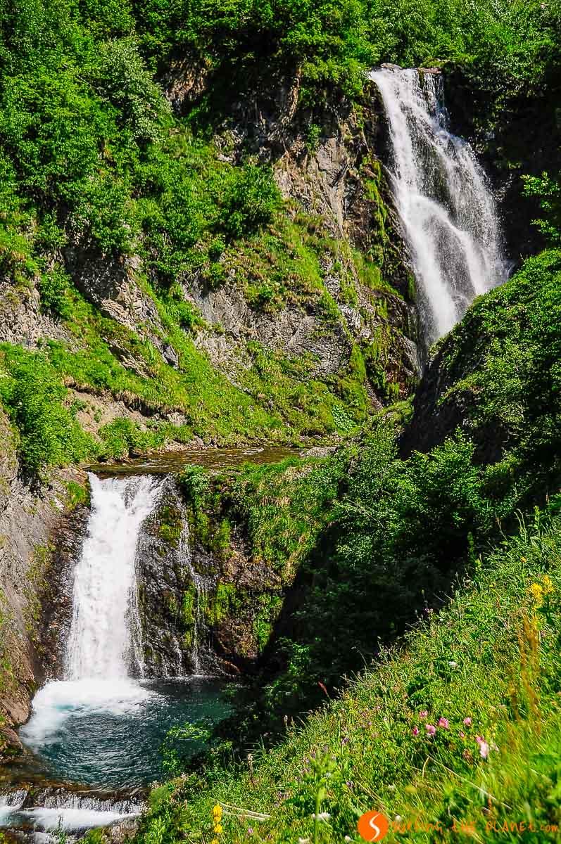 Salto de Sauth deth Pish, Valle de Arán, Cataluña, España | Los imprescindibles que ver y hacer en el Valle de Arán