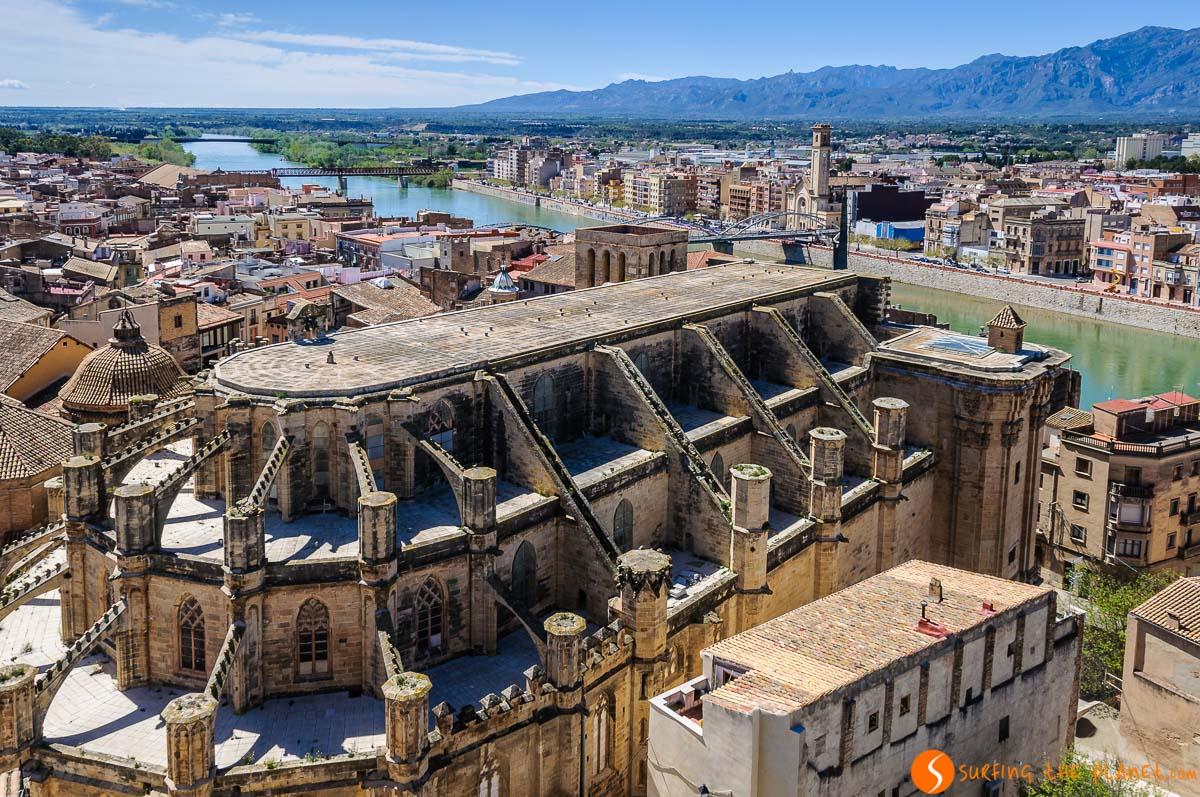 Vista de Tortosa, Costa Dorada, Cataluña, España | Qué hacer en la Provincia de Tarragona