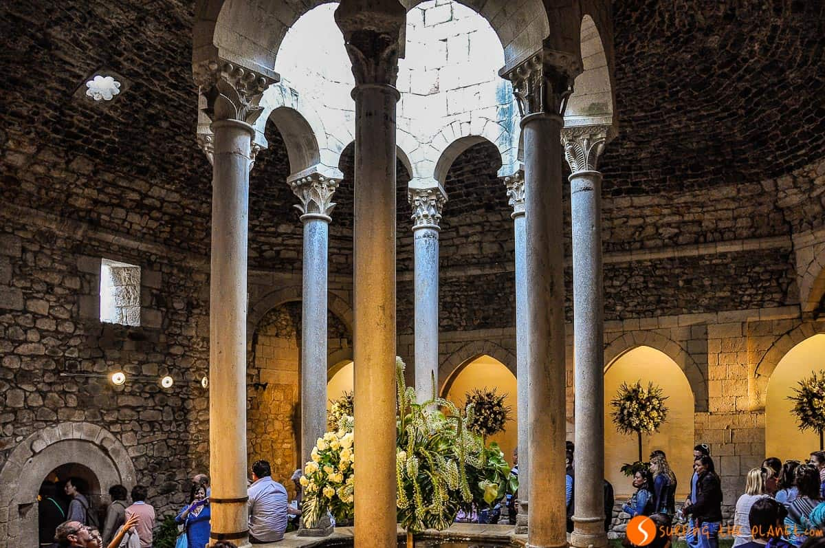 Baños Árabes, Girona, Cataluña, España
