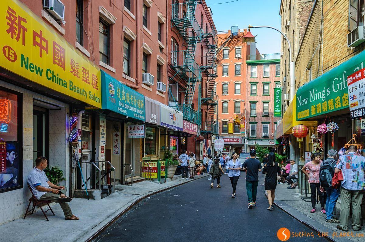 Callejón, Chinatown, Nueva York, Estados Unidos | Qué ver y hacer en Chinatown Manhattan