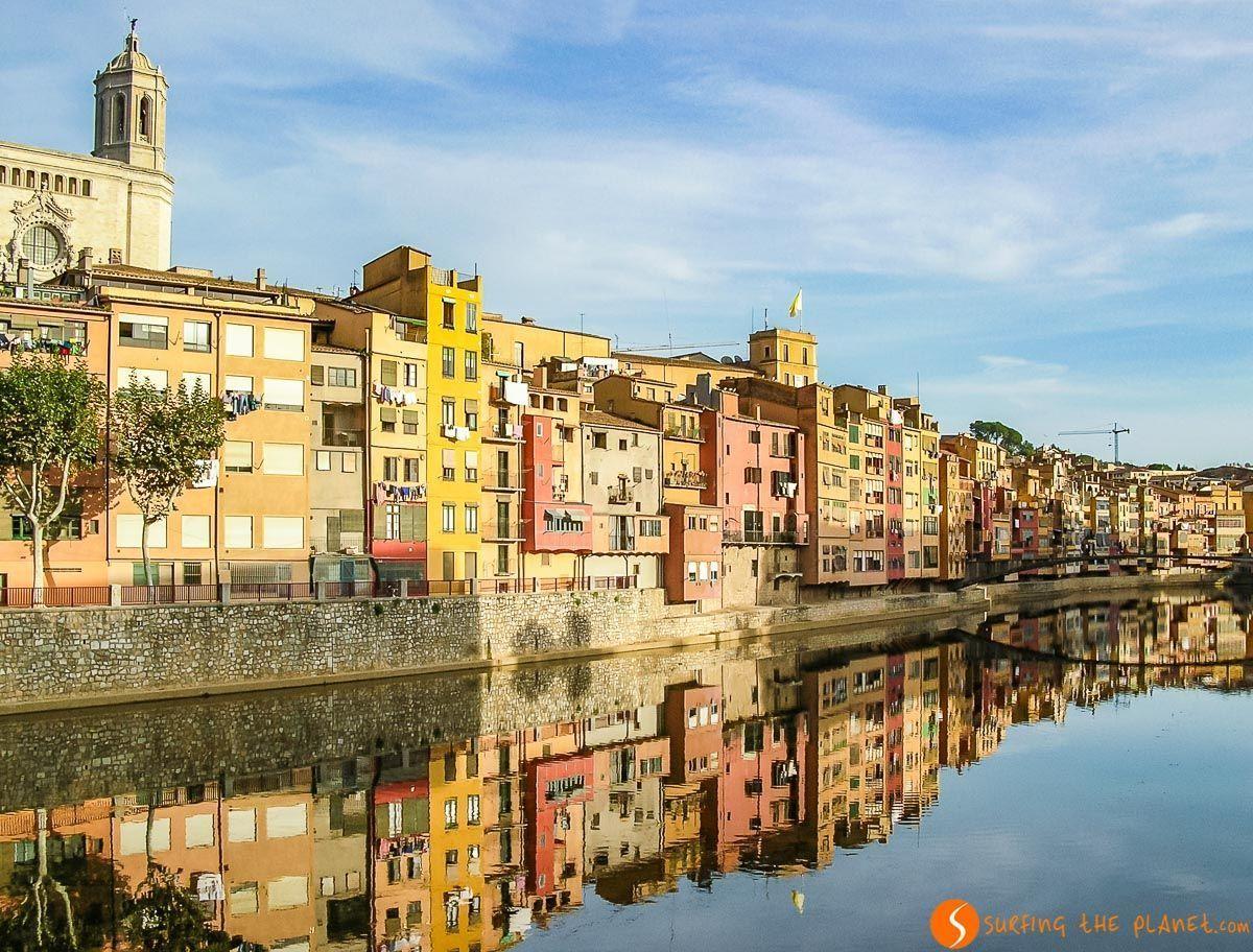 Casas Onyar, Girona, Cataluña, España | Qué ver y hacer en Girona en 1 ó 2 días