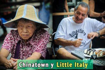 Little Italy y Chinatown, Nueva York, Estados Unidos