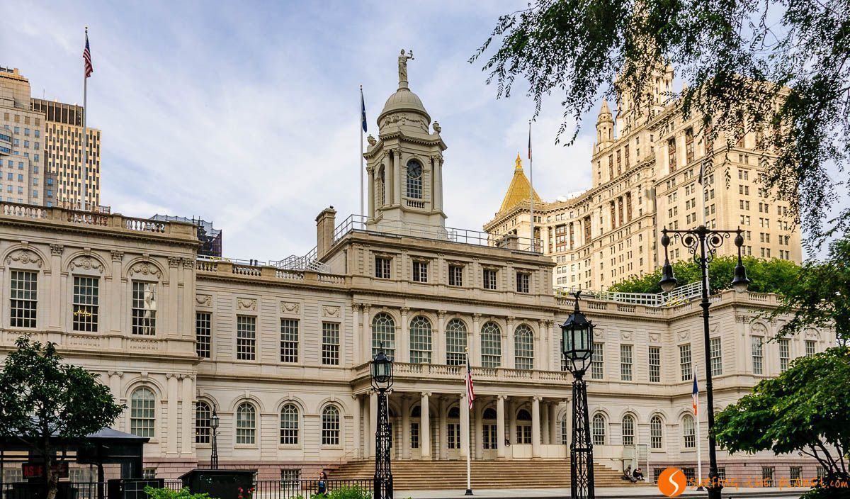 City Hall, Lower Manhattan, Nueva York, Estados Unidos
