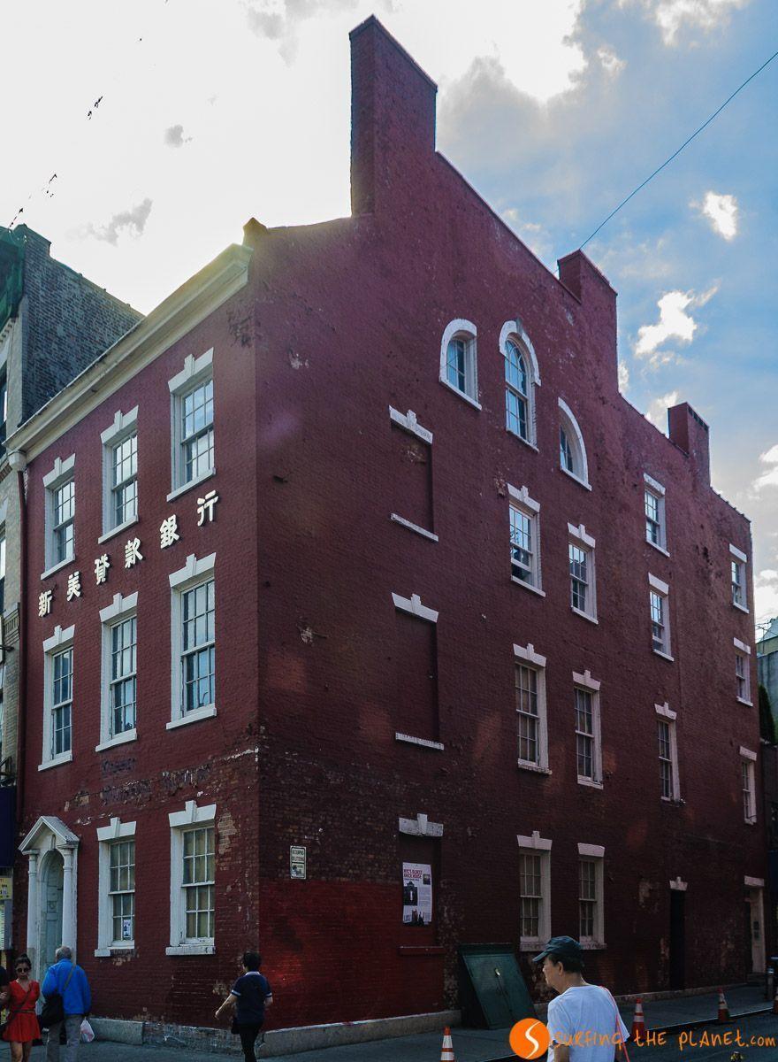 Edward Mooney House, Chinatown, Nueva York, Estados Unidos | Qué visitar en Chinatown Manhattan