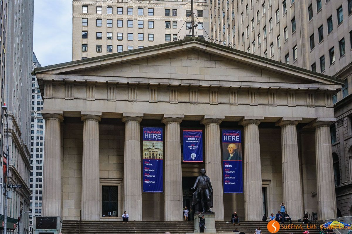 Federal Hall, Lower Manhattan, Nueva York, Estados Unidos