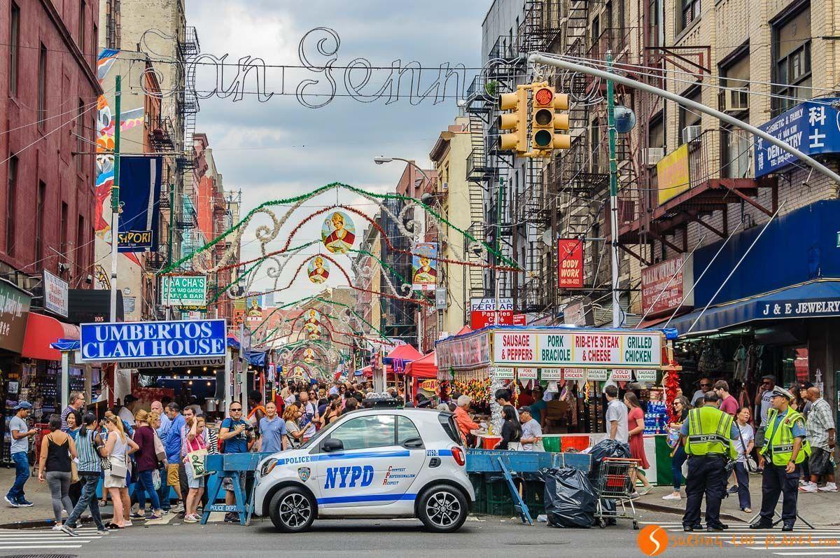 Fiesta de San Gennaro, Little Italy, Nueva York, Estados Unidos